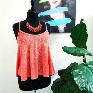 🆕🍉Urban Outfitters | Coral Asymmetric Knit…